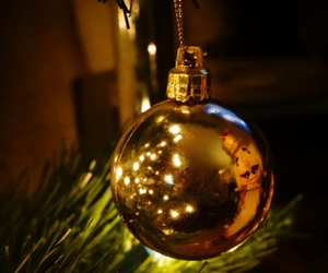 bauble, christmas, and nutcracker image