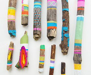 wood, stick, and paint image