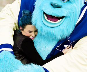 couple, demi lovato, and monster image