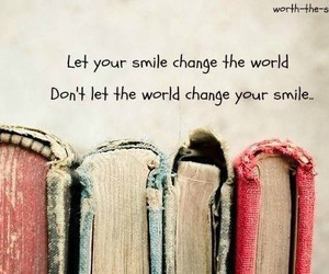smile, book, and quote image