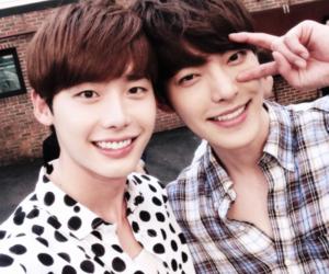 lee jong suk, kim woo bin, and actor image