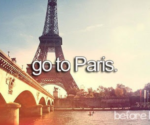 before i die, love, and eiffel tower image