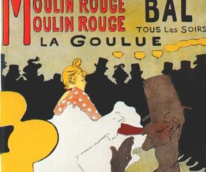 art, top hat, and henri de toulouse-lautrec image