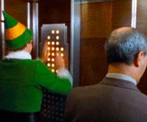christmas, elf, and funny image