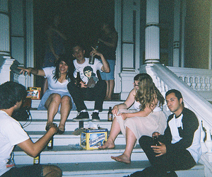 friends, indie, and party image