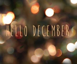 december, hello, and there image