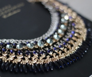 necklace, luxury, and gold image