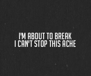 break, life, and quote image