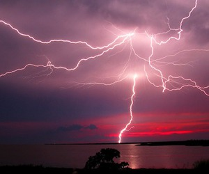 lightning and photography image
