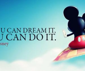 Dream, disney, and mickey image