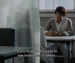 alone, loneliness, and quote image