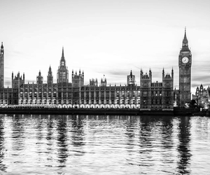 amazing, b&w, and Big Ben image