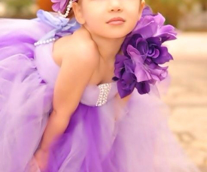 girl and purple image