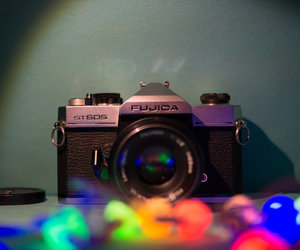 beauty, camera, and metal image