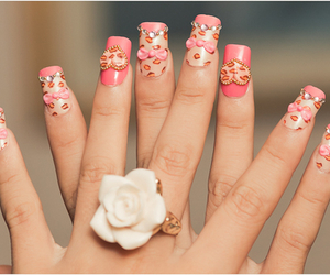 adorable, roses, and diamond image