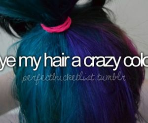 hair, before i die, and color image
