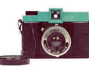 camera, diana, and old image