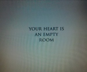 heart, empty, and grunge image