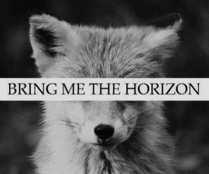 black and white, bmth, and bring me the horizon image