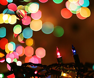 light, christmas, and colorful image