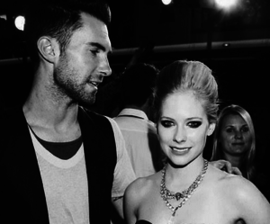 Avril Lavigne, adam levine, and Avril image