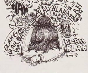blah and drawing image
