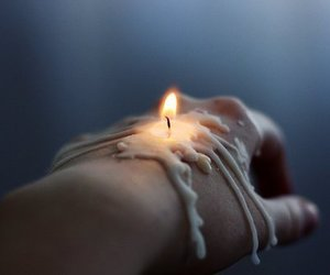 background, beautiful, and candle image