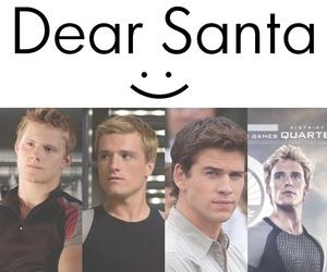 dear santa and peeta image