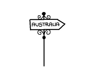 australia, drawing, and Dream image