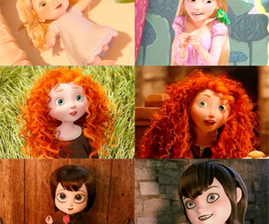 disney, brave, and rapunzel image