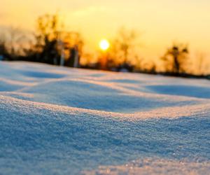 snow, sun, and winter image