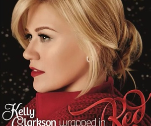 music, christmas, and kelly clarkson image