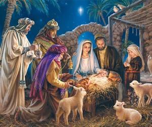 christmas, jesus, and Nativity image