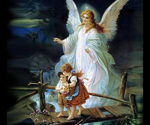 angel, wings, and children image