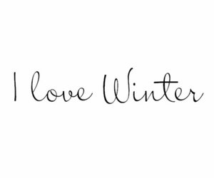 winter, love, and snow image