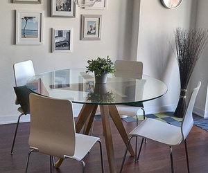 chairs, decoration, and dinning room image