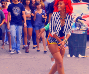 rihanna, what's my name, and red hair image