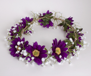 flowers and flower crown image