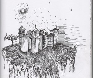 city, draw, and Ilustration image