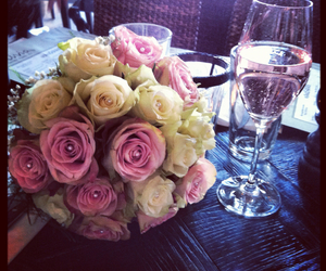 flowers, girlish, and sparkling image