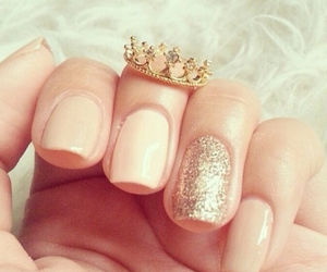 nails, crown, and ring image