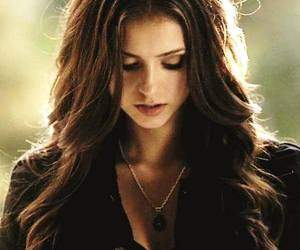 Nina Dobrev, the vampire diaries, and katherine pierce image