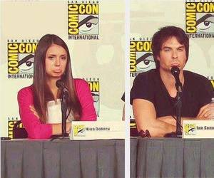 nian, Nina Dobrev, and ian somerhalder image