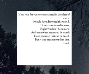 poem, stars, and cute image