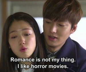 horror, romance, and kdrama image