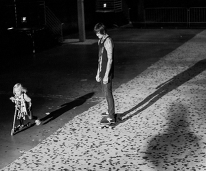 mitch lucker, angel, and suicide silence image