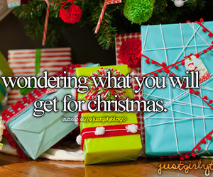christmas, present, and justgirlythings image