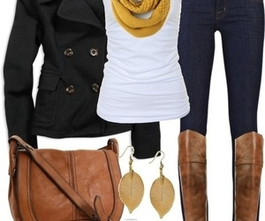 style, outfit, and boots image