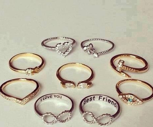 rings, ring, and infinity image