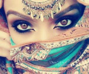 eyes, beauty, and makeup image